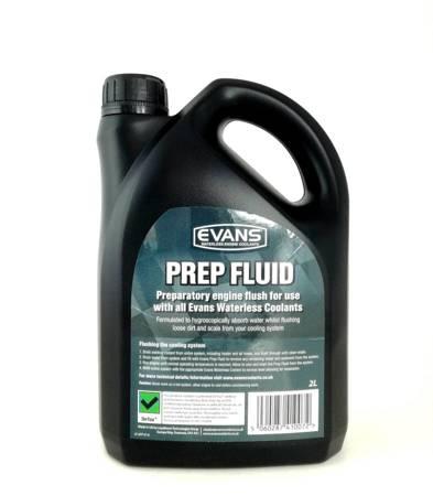 Płyn do oczyszczania układu z wody EVANS Prep Fluid 2L