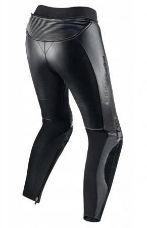 Damskie spodnie skórzane REBELHORN Rebel Lady black