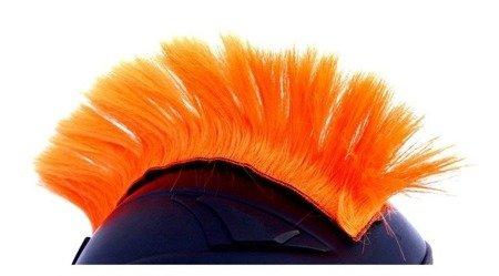 IROKEZ na kask pomarańczowy