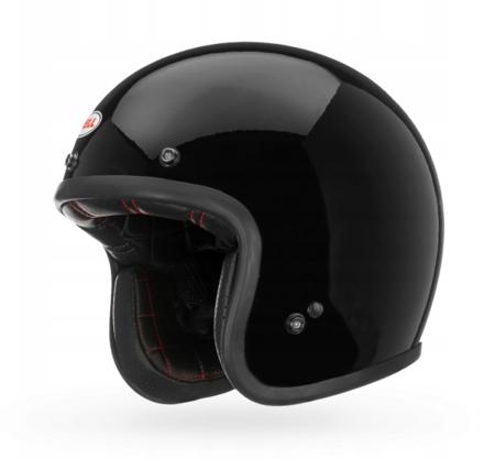 Kask BELL Custom 500 black  z wizjerem dark smoke