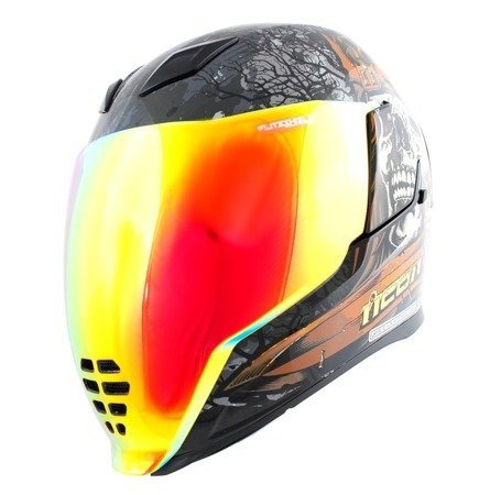 Kask ICON AIRFLITE Uncle Dave red mirror