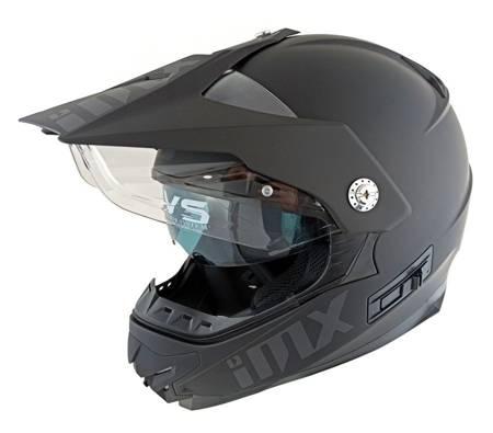 Kask IMX MXT-01 czarny matt