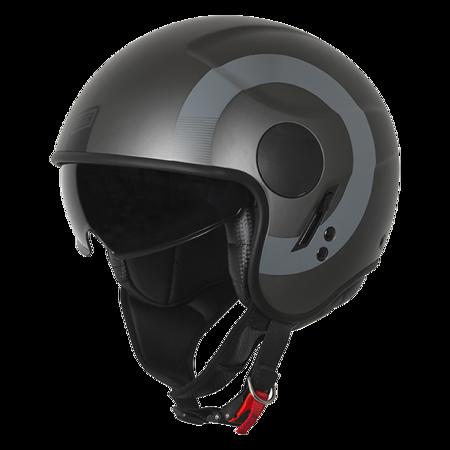 Kask ORIGINE Sierra round black titanium matt