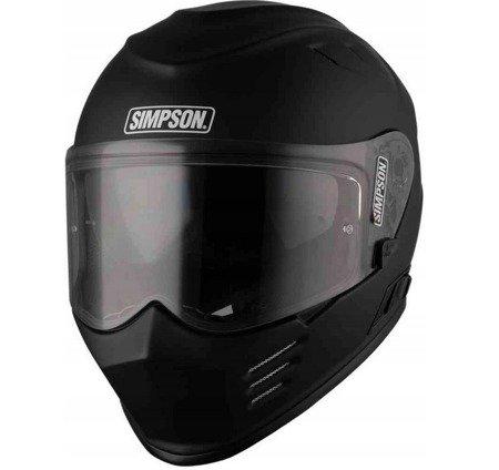 Kask SIMPSON Ghost Bandit Venom black matt