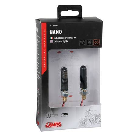 Kierunkowskazy Led LAMPA Nano - homologacja