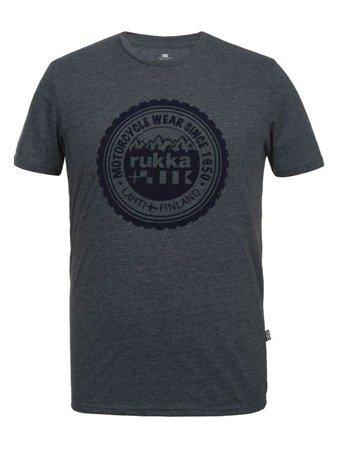 Koszulka T-shirt RUKKA MITFORD dark grey