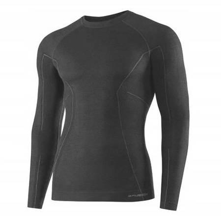 Koszulka termoaktywna Brubeck Active Wool LS12820 graphite