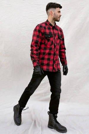 Kurtka koszula BROGER Alaska red