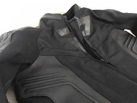 Kurtka skórzano-tekstylna REBELHORN Vandal AIR black