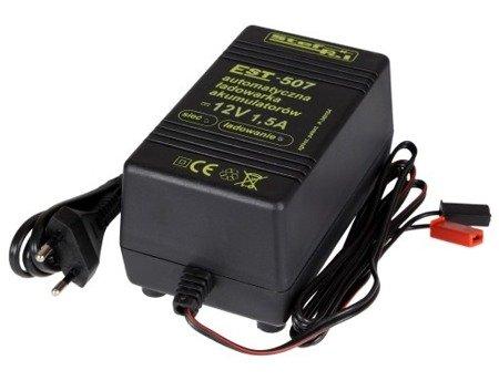 Ładowarka akumulatorowa automatyczna EST - 507 12V 1,5A