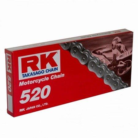 Łańcuch napędowy RK 520 130 ogniw otwarty z zapinką klipsem