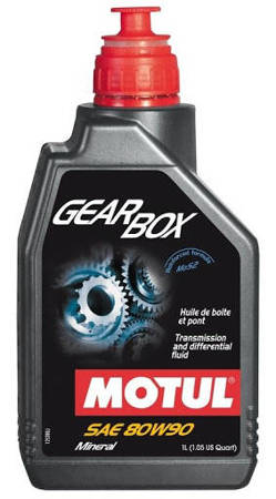 Olej przekładniowy MOTUL Gear Box 80W90 1L