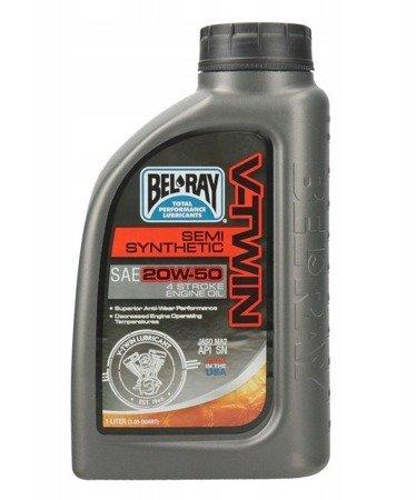Olej silnikowy BEL RAY V-Twin 20W50 1L
