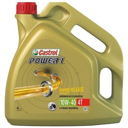 Olej silnikowy CASTROL Power1 4T 10W40  4L