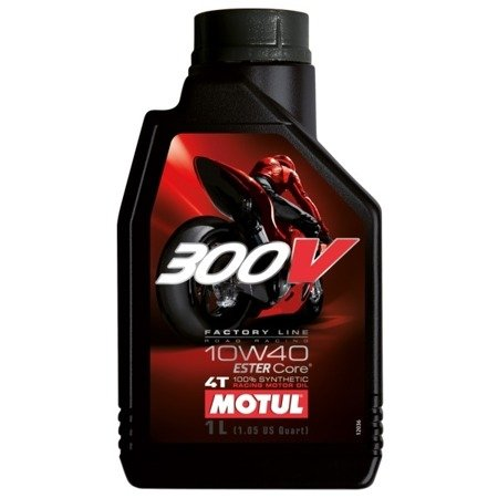 Olej silnikowy MOTUL 300V 10W40 1L