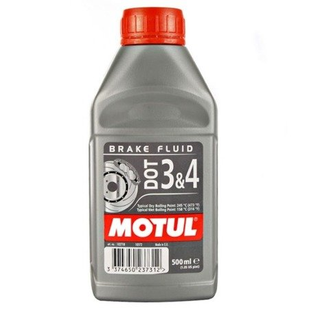 Płyn hamulcowy MOTUL DOT 3&4 500ml