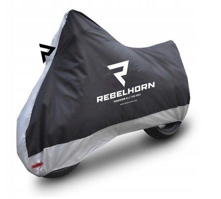 Pokrowiec na motocykl REBELHORN Cover II - wodoodporny rozmiar S