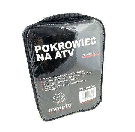 Pokrowiec na quada MORETTI ATV - wodoodporny L
