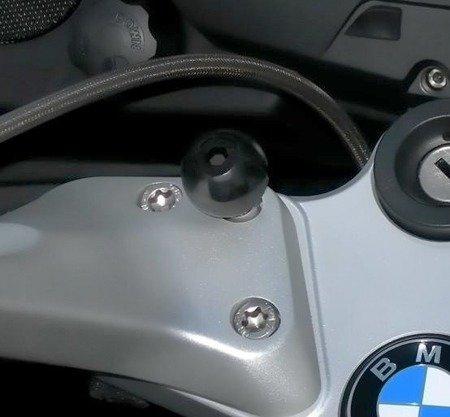 RAM MOUNTS Zaciskowa podstawa montażowa z głowicą 1 cal do kierownicy ze śrubami M8