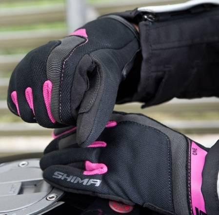 Rękawice damskie SHIMA One Lady pink