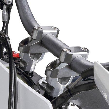 Risery podwyższenie kierownicy ZETA 26 mm z przesunięciem FATBAR ZE53-0626
