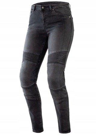 Spodnie damskie jeans OZONE Agness II Washed Black