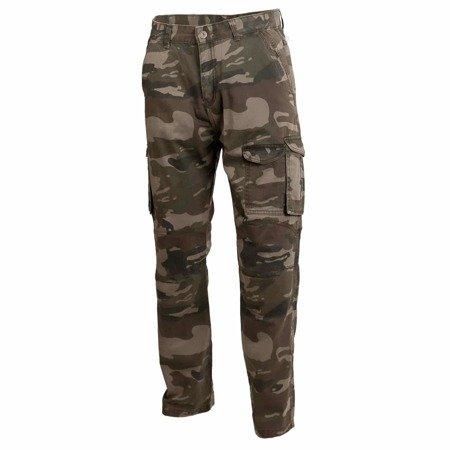 Spodnie męskie jeans SECA COMBO camo