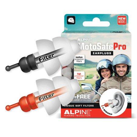 Stopery do uszu ALPINE MotoSafe PRO Race + Tour